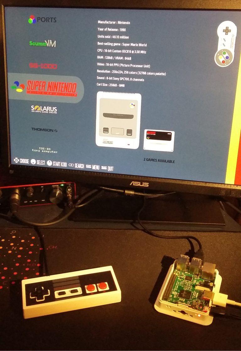 Recalbox Raspberry Pi
