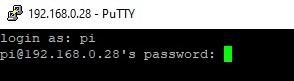 Pi password